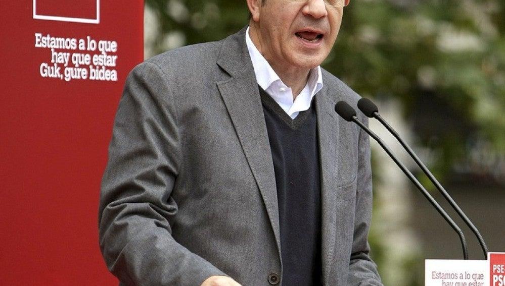Patxi López, candidato a lehendakari del PSOE