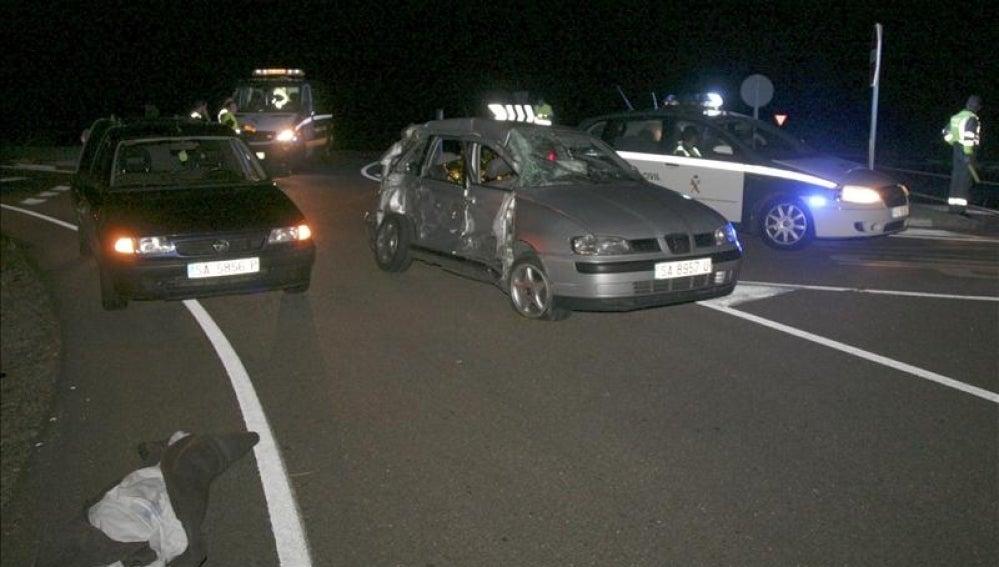 Accidente de tráfico en Salamanca