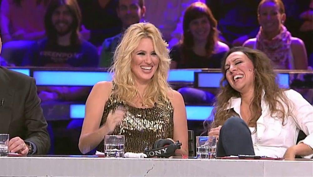 Mónica Naranjo y Carolina Cerezuela