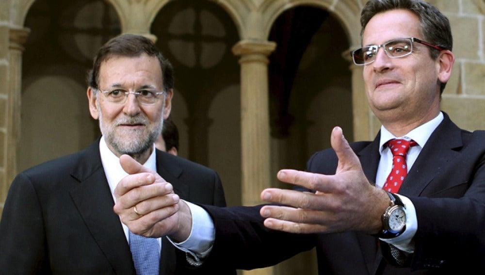 Rajoy y Basagoiti, en San Sebastián