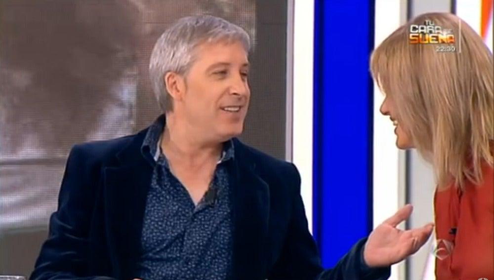 Antena 3 tv javier de los pecos felicita a susanna for Antena 3 espejo publico hoy