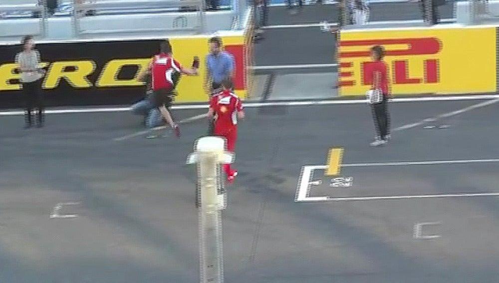 Alonso, en el circuito de Suzuka