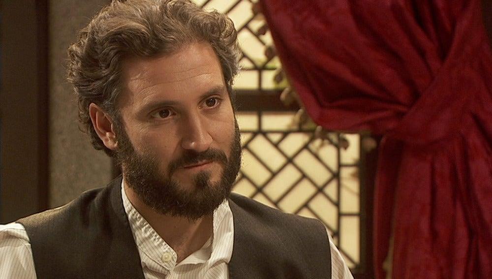 Tristán pregunta a María por Fernando