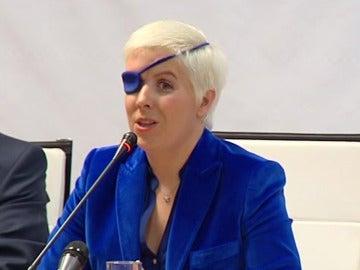María de Villota reparece en rueda de prensa