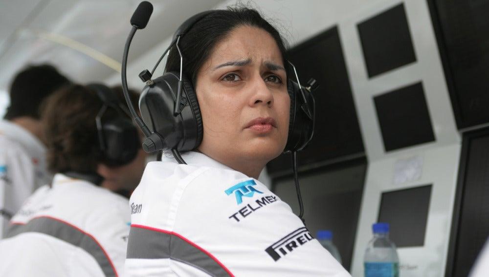 Monisha Kaltenborn, del equipo Sauber