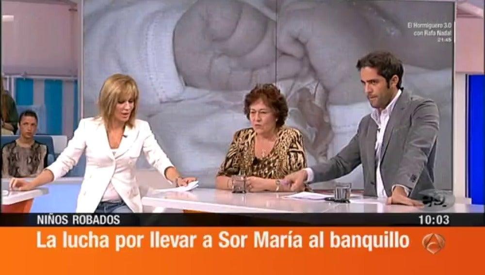 Antena 3 tv me durmieron para quitarme a mi hijo for Espejo publico hoy completo
