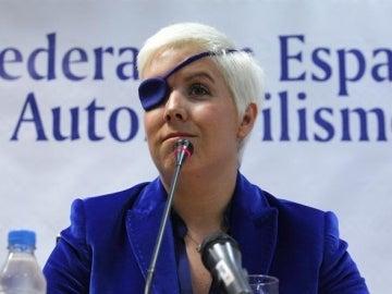 María de Villota en rueda de prensa