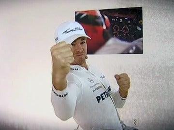 Rosberg, un jugón de fútbol