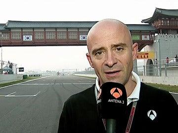 Antonio Lobato, en la recta de Yeongam