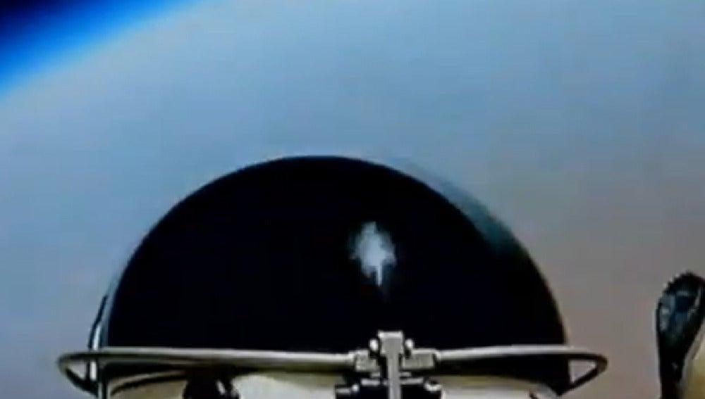 Baumgartner salta desde la estratosfera