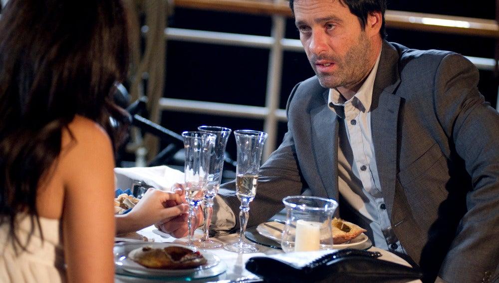 Gamboa, ¿de cena romántica con Estela?