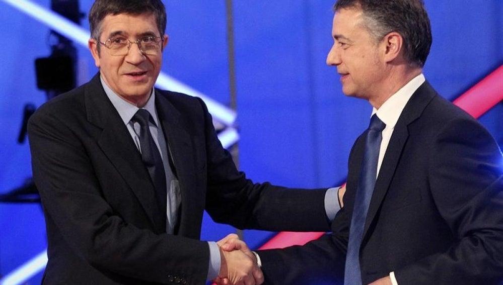 Debate electoral vasco.
