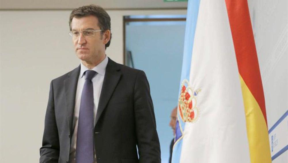 Núñez Feijóo en la Xunta de Galicia