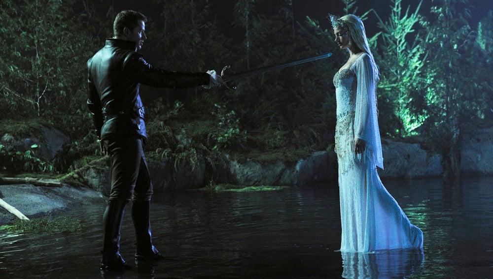 El príncipe y la dama del lago