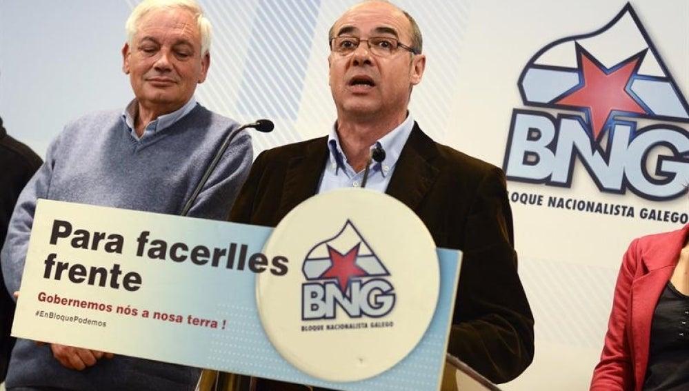 El candidato del BNG, Francisco Jorquera admite la derrota