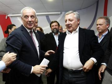 Pachi Vázquez, con José Blanco