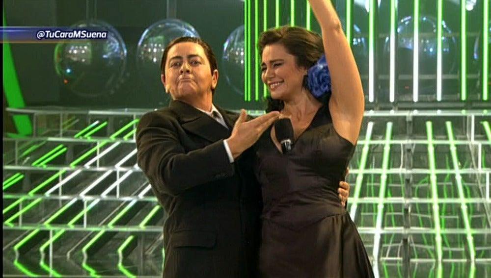 María del Monte y Silvia Pantoja