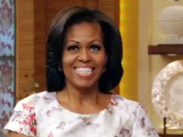Michelle Obama en un Talk Show