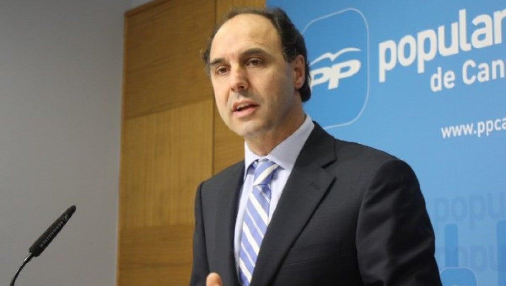 El presidente Ignacio Diego, del PP