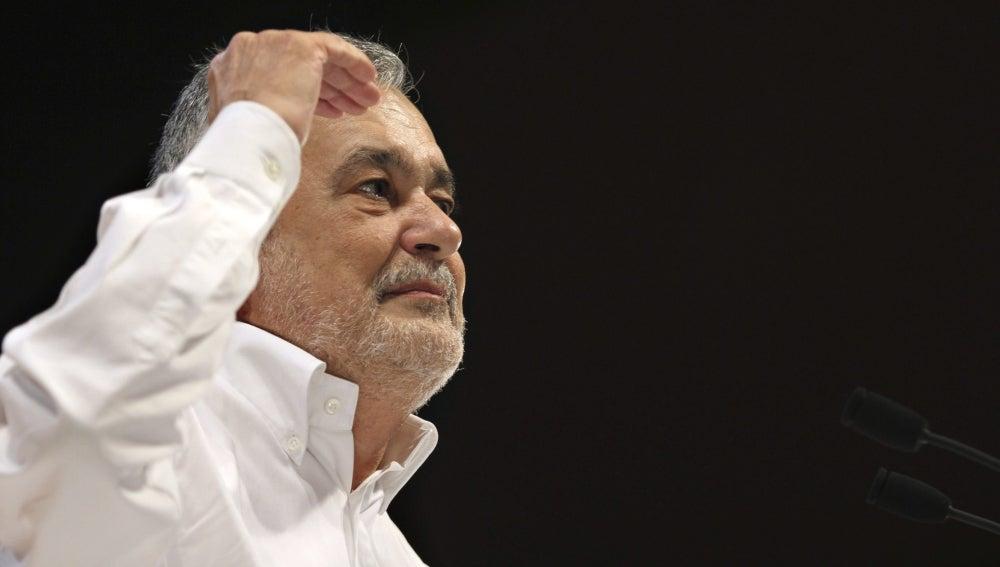 José Antonio Griñán durante su intervención en la Convención Municipal del PSOE Andalucía
