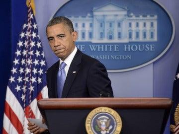 Barack Obama, preocupado por el huracán 'Sandy'