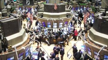 Wall Street en Nueva York.