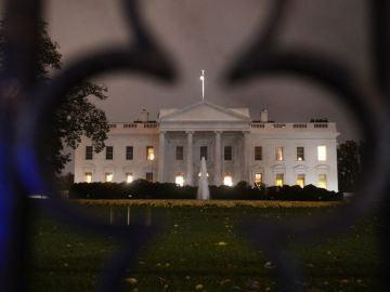 La Casa Blanca tras el paso del huracán 'Sandy'