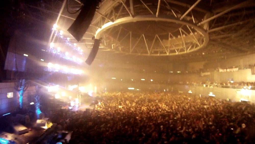 El Madrid Arena, desde arriba