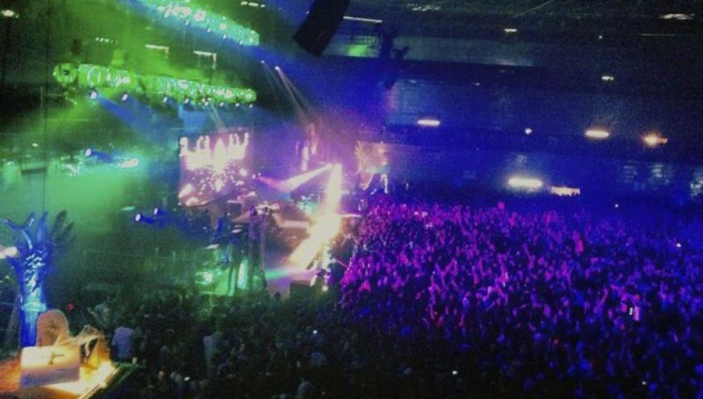 Imagen del Madrid Arena, lugar de la tragedia en la noche de Halloween