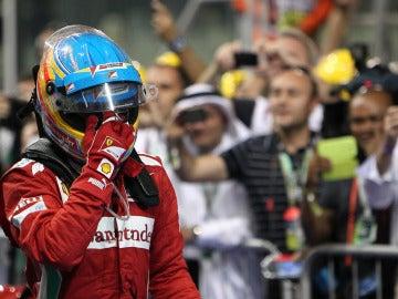 Alonso, tras la carrera en Yas Marina