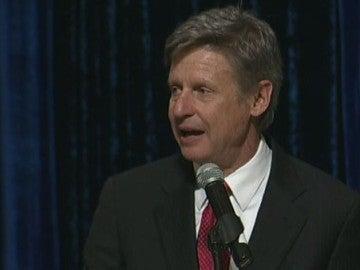 Gary Johnson, candidato del Partido Libertario