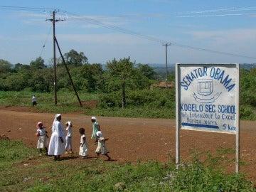 Los habitantes de Kogelo, expectantes antes las elecciones presidenciales