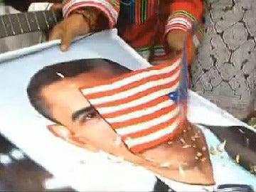 Un ritual de chamanes peruanos da la victoria a Obama