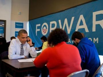Barack Obama, a la espera de los resultados
