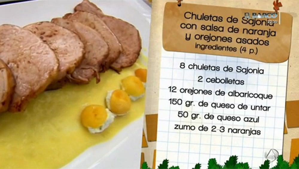 Chuletas de Sajonia