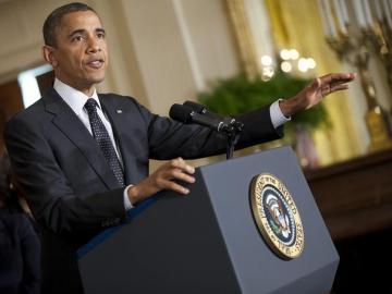 Barack Obama, ofrece la primera rueda de prensa en la Casa Blanca tras haber ganado la reelección