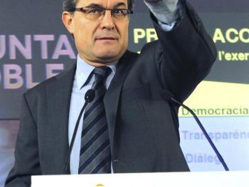 Artur Mas propondrá una nueva declaración solemne por el derecho a decidir