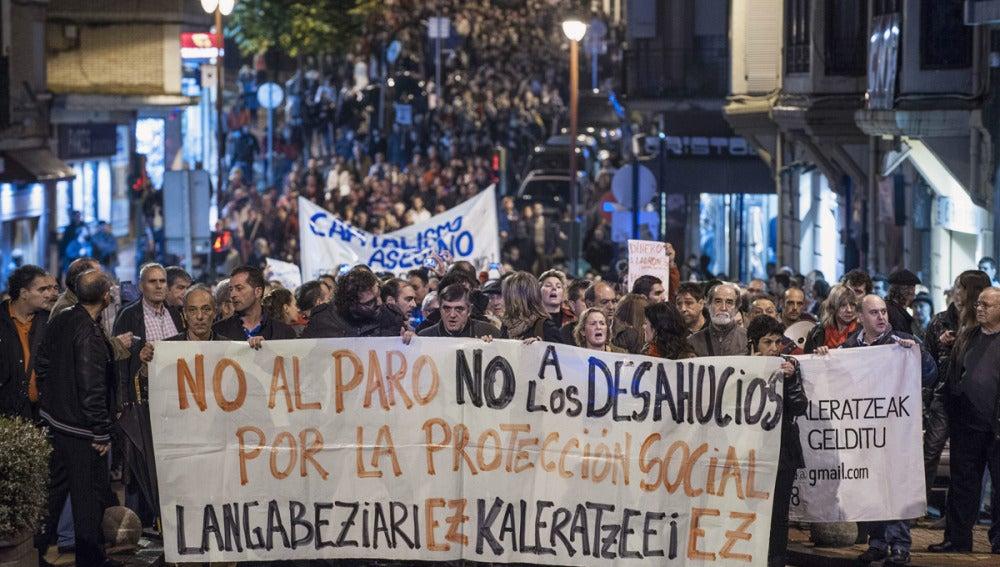 Manifestación en Barakaldo