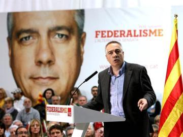 Pere Navarro, candidato del PSC
