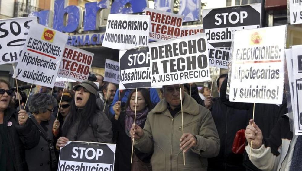 Los acuerdos sobre los desahucios con el PSOE se aprobarán este mismo jueves