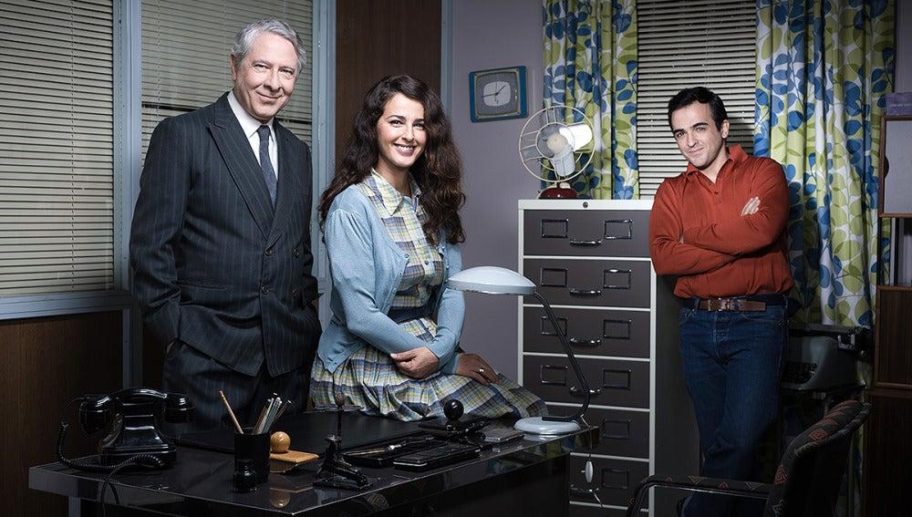 Sabino, Roberta y Tomás trabajan en ' 'La Puntual'