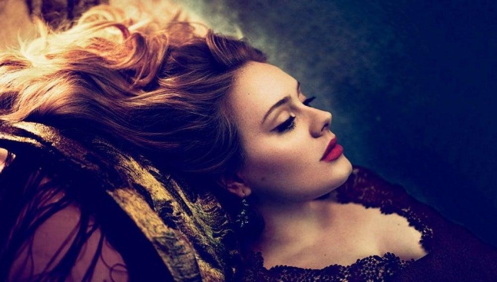 La cantante Adele Adkins