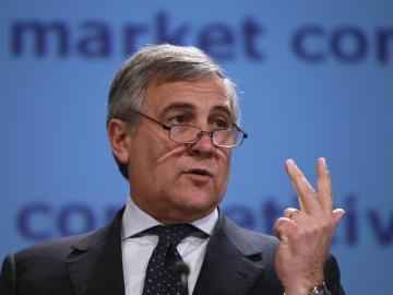 Antonio Tajani, vicepresidente de la Comisión Europea