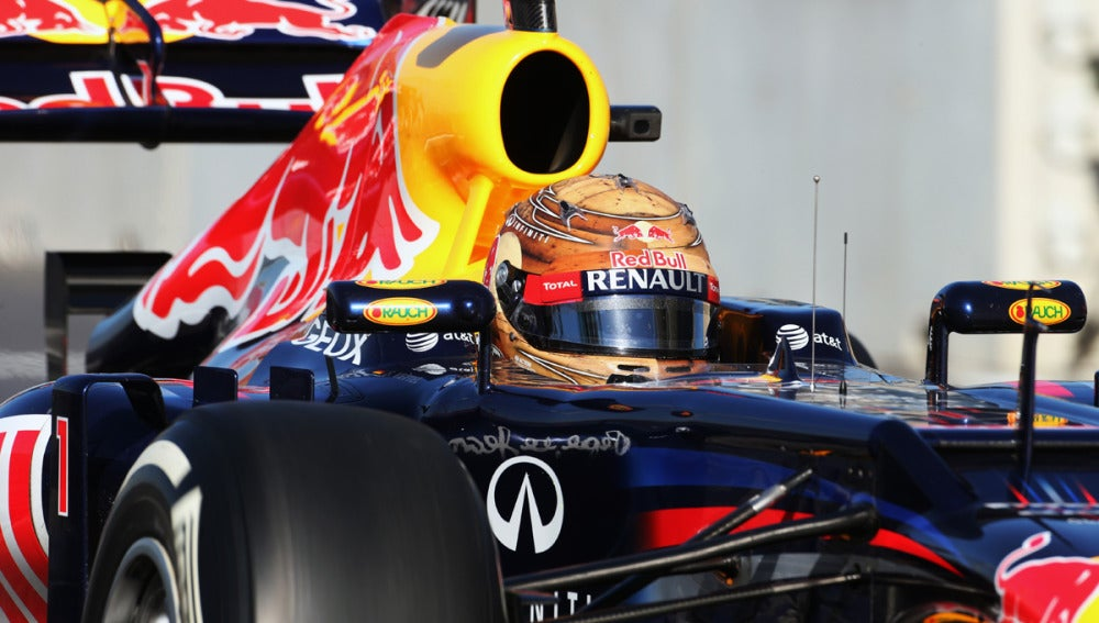 El Red Bull de Vettel