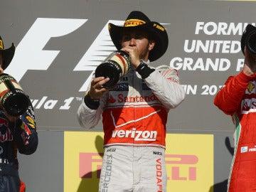 Los tres del podio