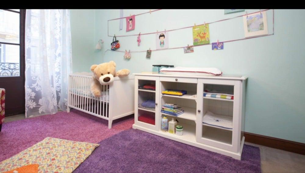 Una habitación para el bebé de Paloma
