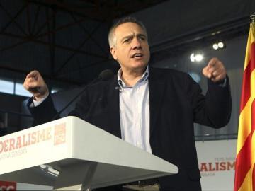 El candidato del PSC a la presidencia de la Generalitat, Pere Navarro