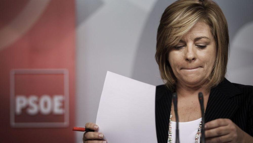La vicesecretaria general del PSOE, Elena Valenciano