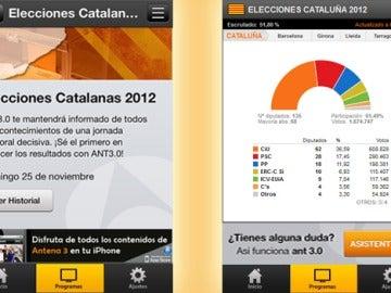 Sigue las elecciones catalanas con ANT3.0