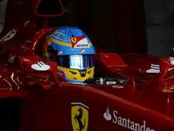 Alonso, listo para conducir